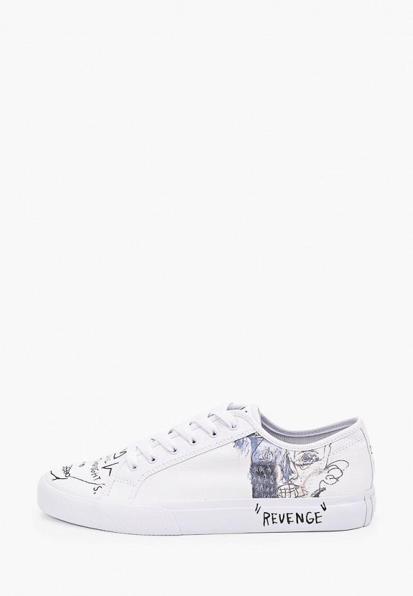 мужские кеды dc shoes, белые