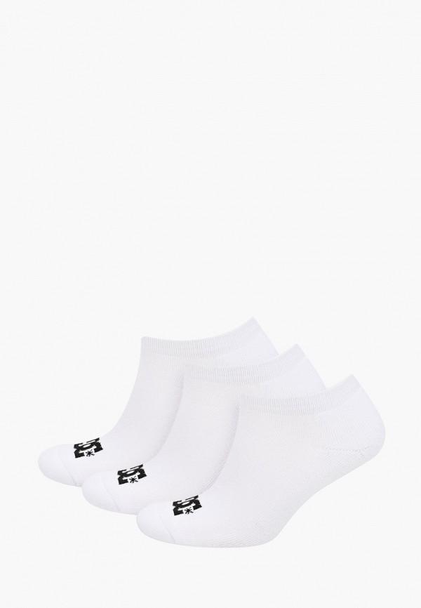 мужские носки dc shoes, белые