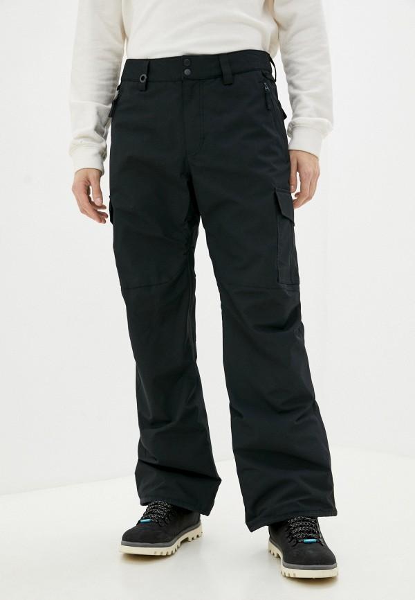 мужские брюки quiksilver, черные