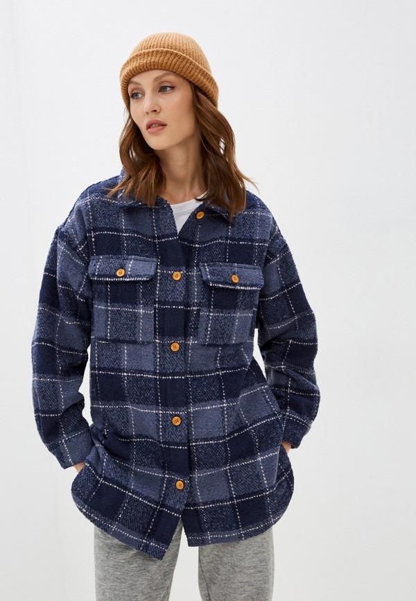 женское пальто roxy, синее