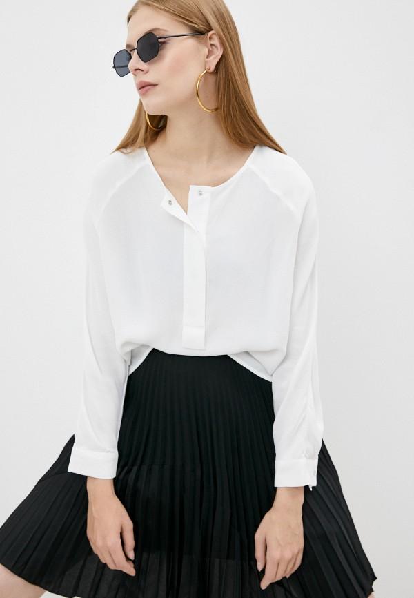 женская блузка с длинным рукавом bimba y lola, белая