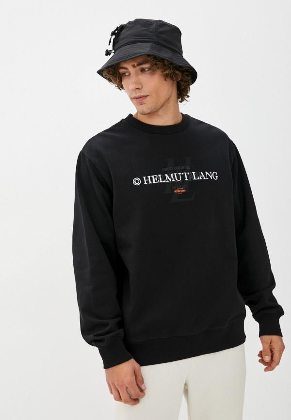 мужской свитшот helmut lang, черный