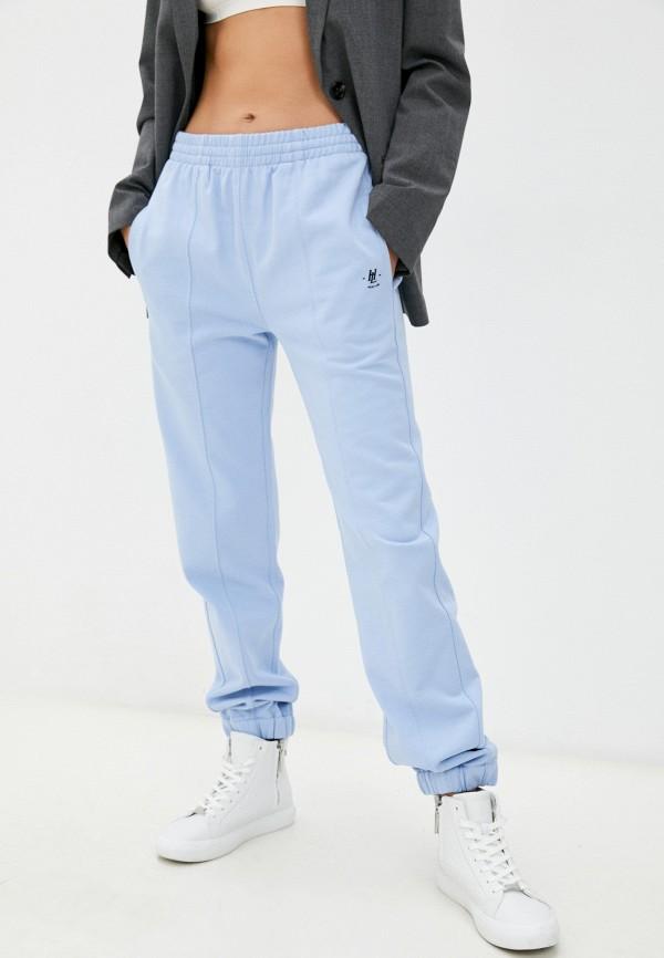 женские спортивные брюки helmut lang, голубые
