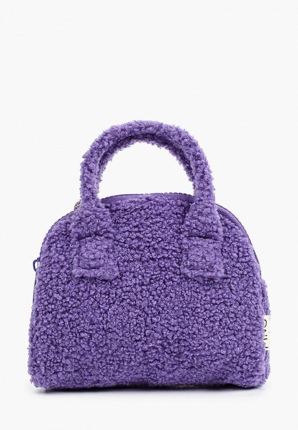 сумка mango kids для девочки, фиолетовая