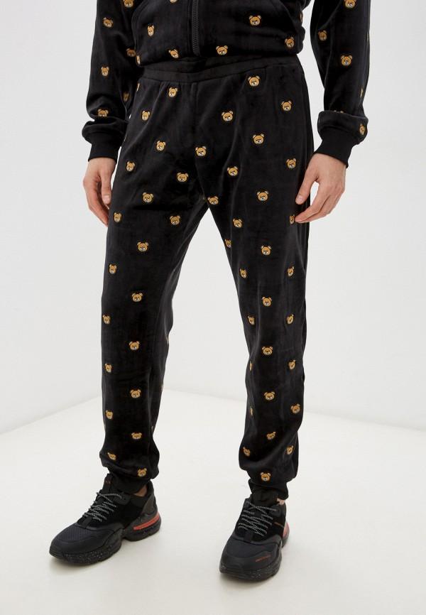 мужские спортивные брюки moschino couture, черные