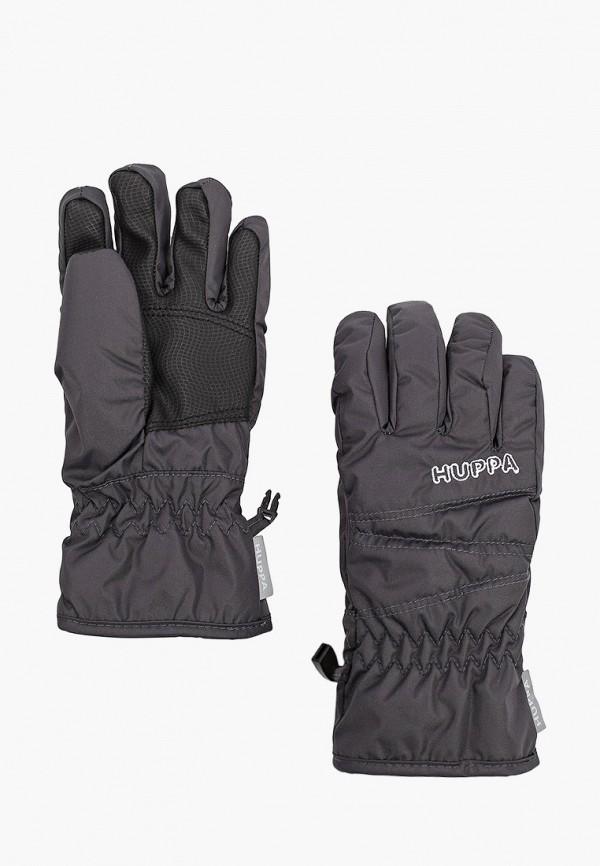перчатки huppa для мальчика, серые