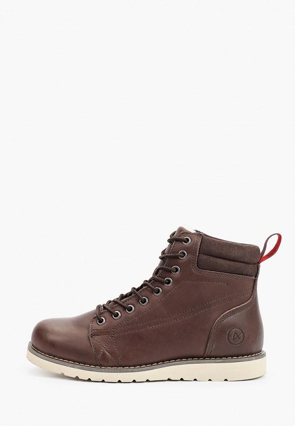 женские высокие ботинки affex, коричневые