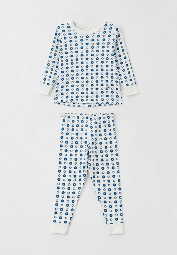 пижама petit bateau для девочки, голубая