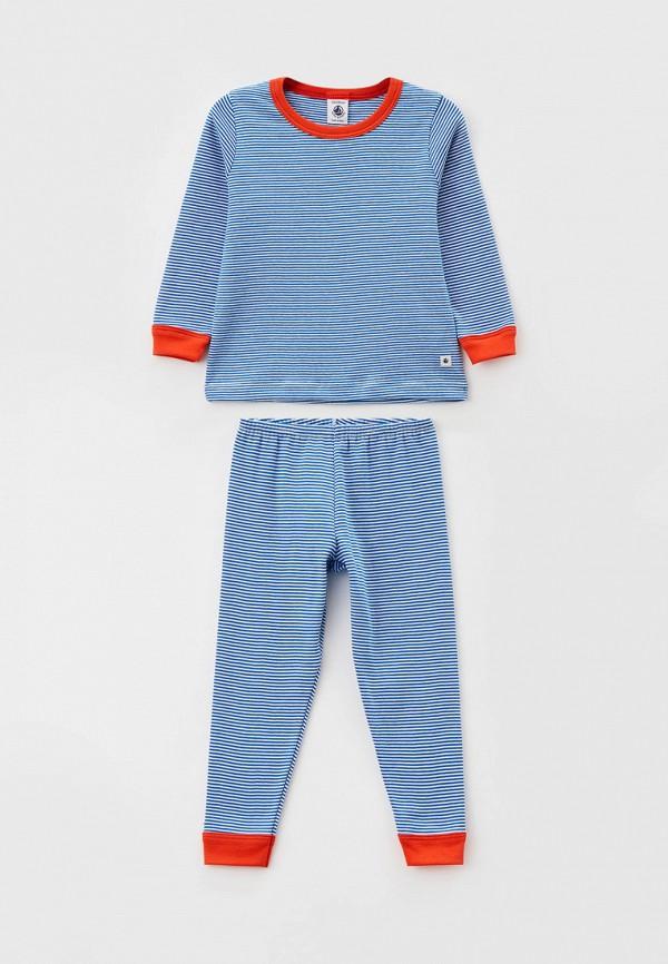 пижама petit bateau малыши, синяя