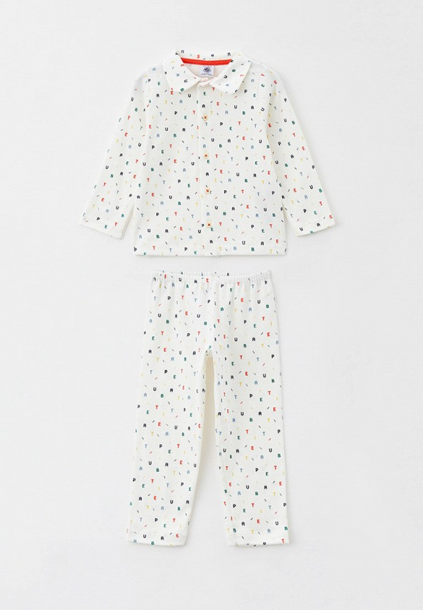 пижама petit bateau малыши, белая
