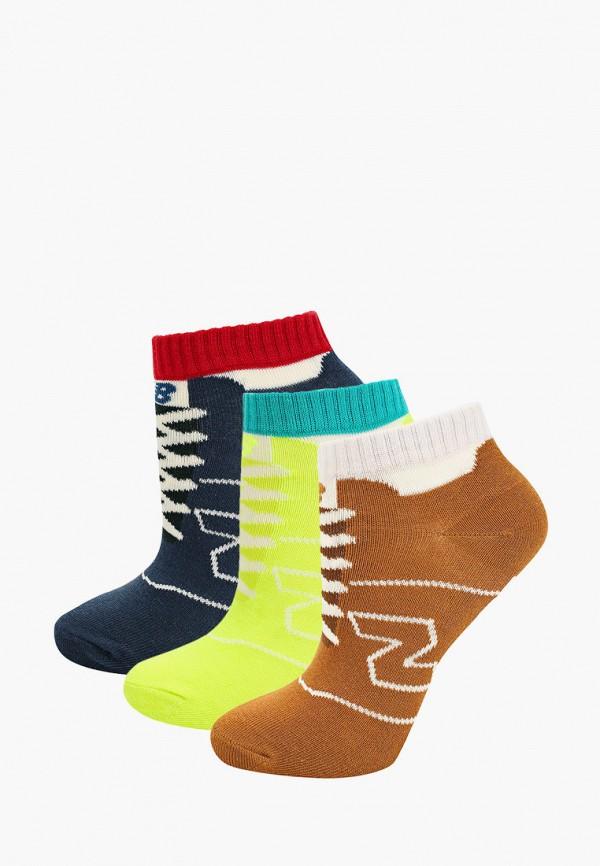 носки new balance малыши, разноцветные