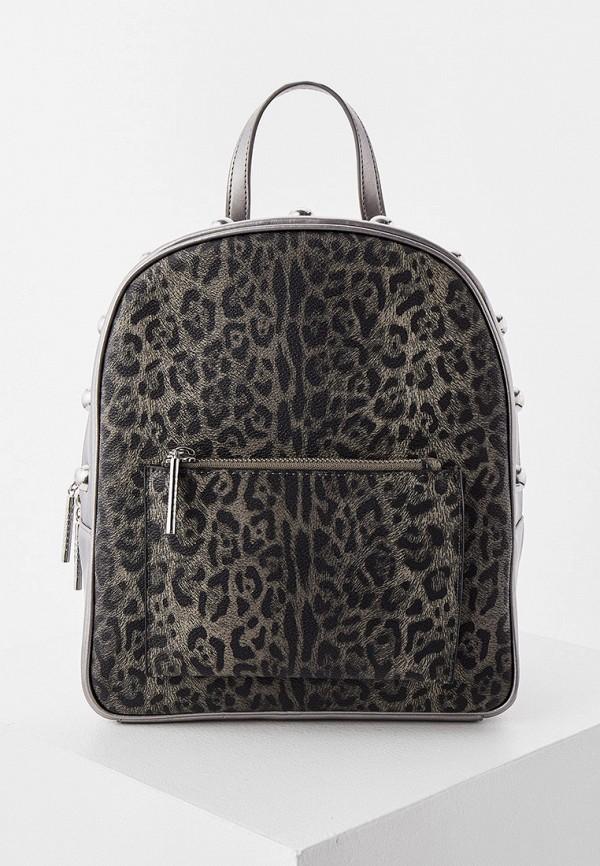 женский рюкзак cavalli class, серый