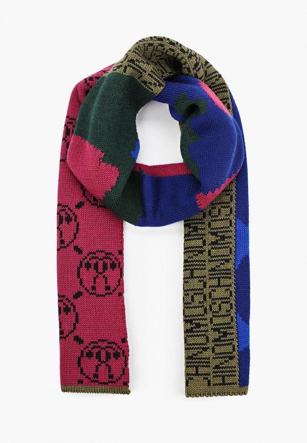 женский шарф moschino, разноцветный