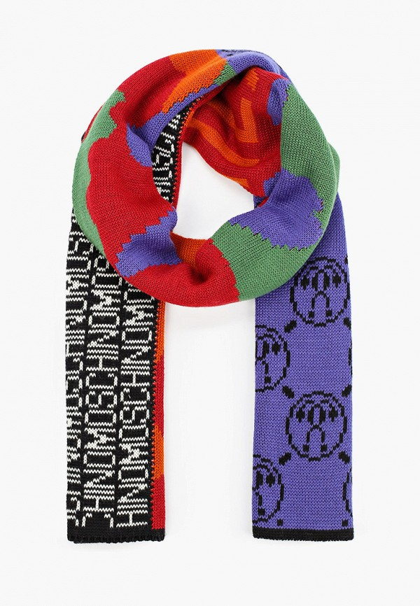 Шарф Moschino разноцветного цвета