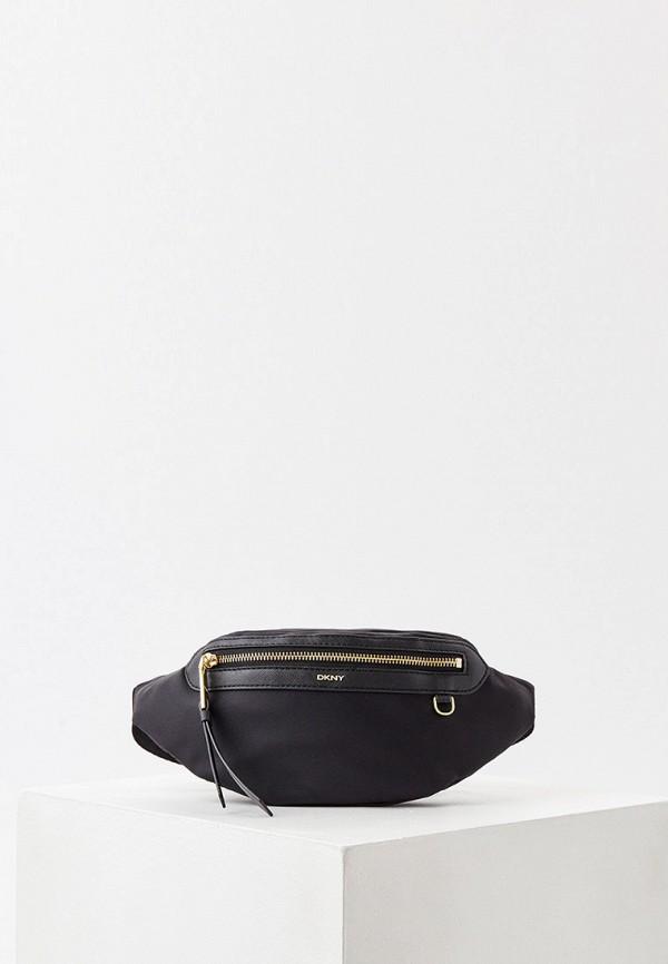 женская поясные сумка dkny, черная