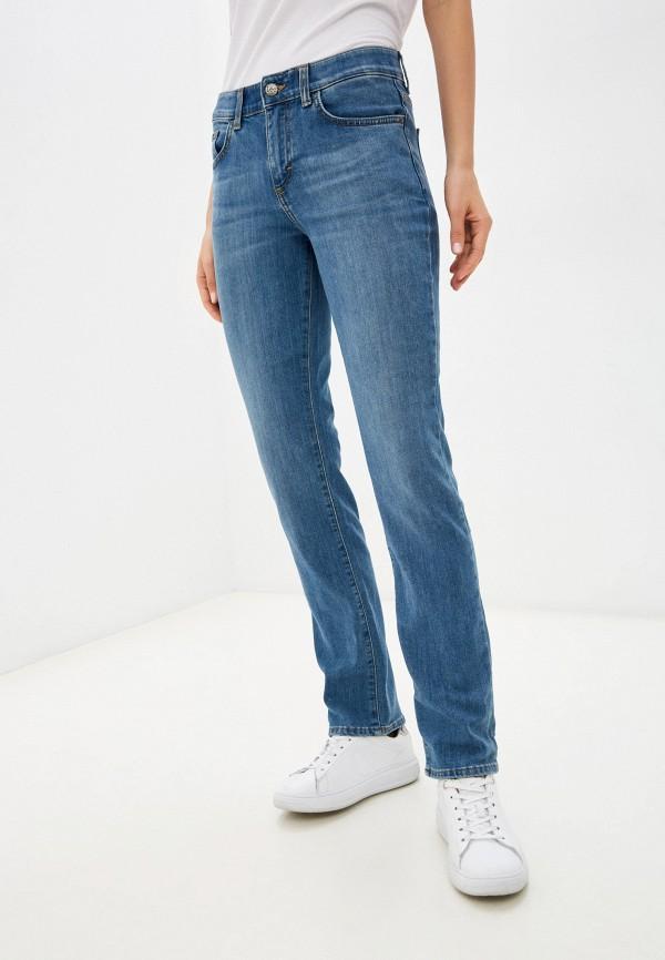 женские прямые джинсы lee, голубые