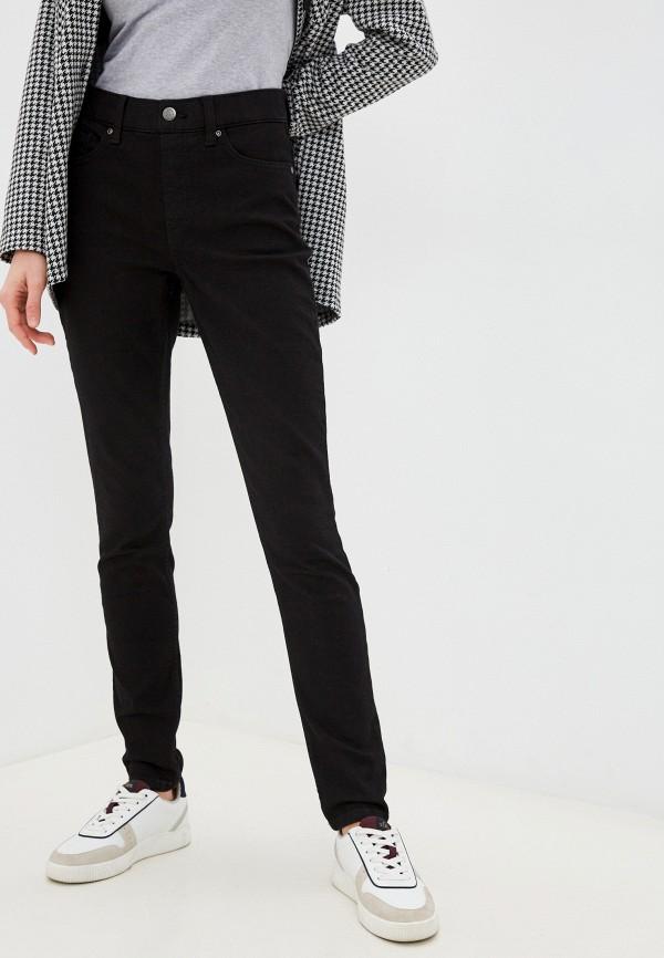 женские джинсы скинни lee, черные