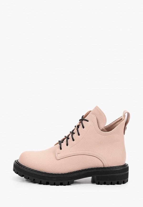 женские ботинки betsy, розовые