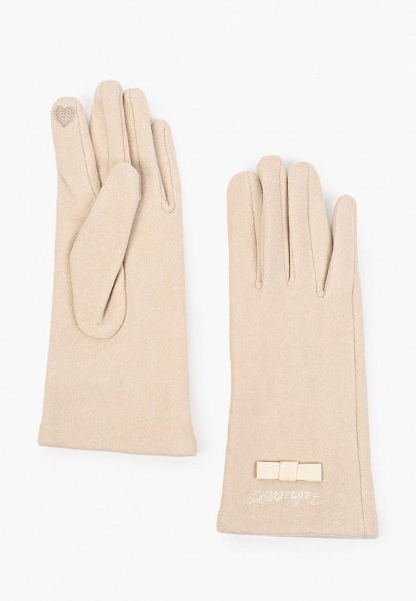 Перчатки Fabretti бежевого цвета