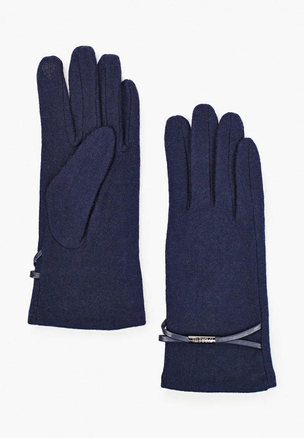 Перчатки Fabretti синего цвета
