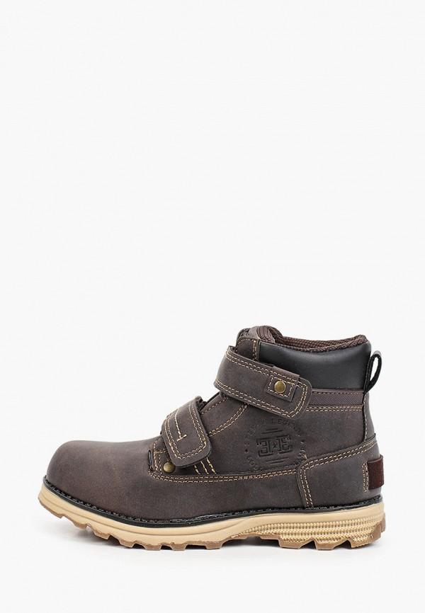 ботинки beppi для мальчика, коричневые