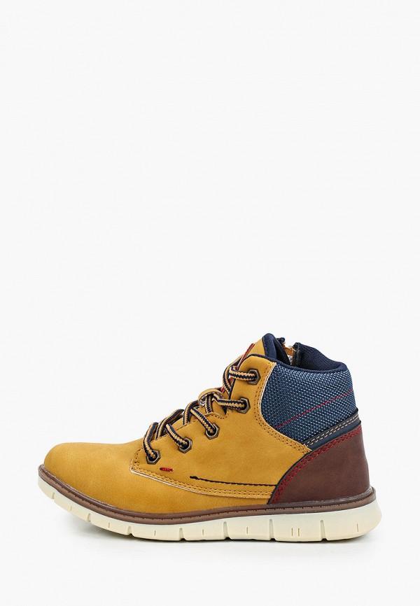 ботинки beppi для мальчика, бежевые