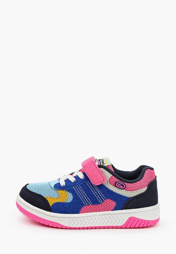 кроссовки beppi для девочки, разноцветные