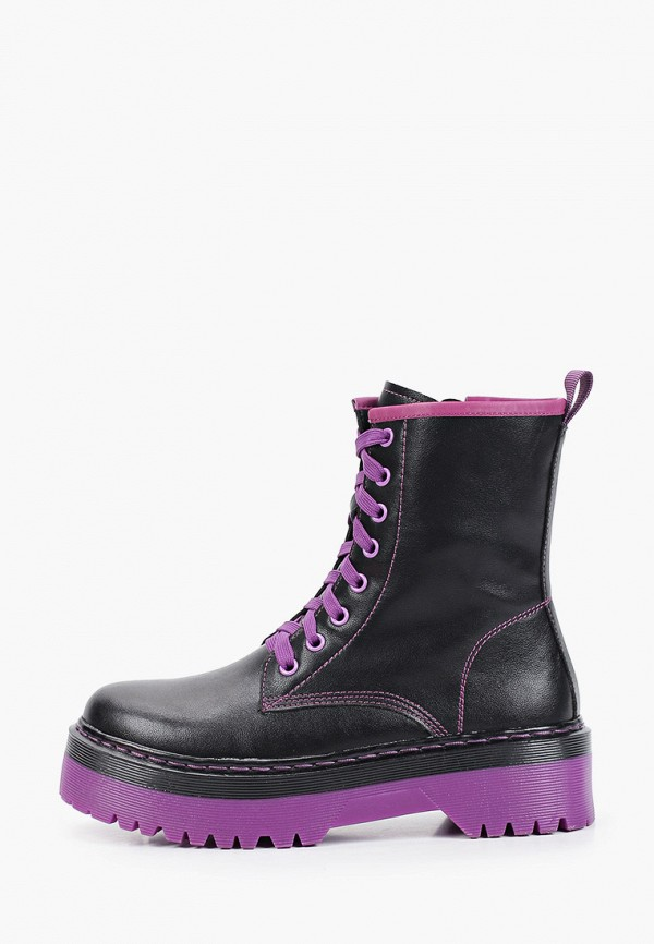 Ботинки Тофа черного цвета