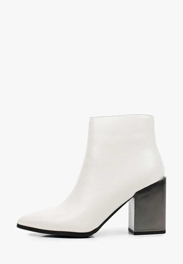 женские ботильоны just couture, белые