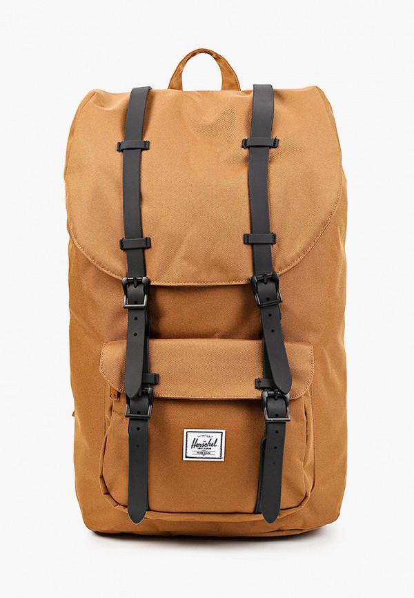 женский рюкзак herschel supply co, коричневый