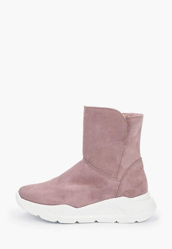 полусапожки котофей для девочки, розовые