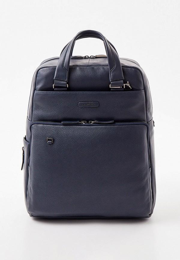 мужской рюкзак piquadro, синий