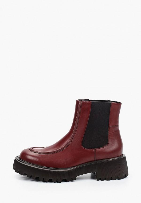 женские ботинки-челси der spur, красные