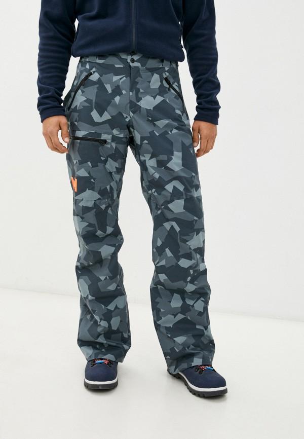 мужские горнолыжные брюки helly hansen, серые