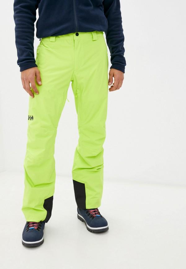 мужские горнолыжные брюки helly hansen, зеленые