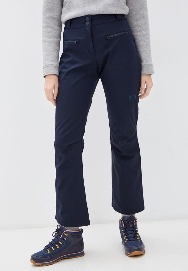 женские горнолыжные брюки helly hansen, синие