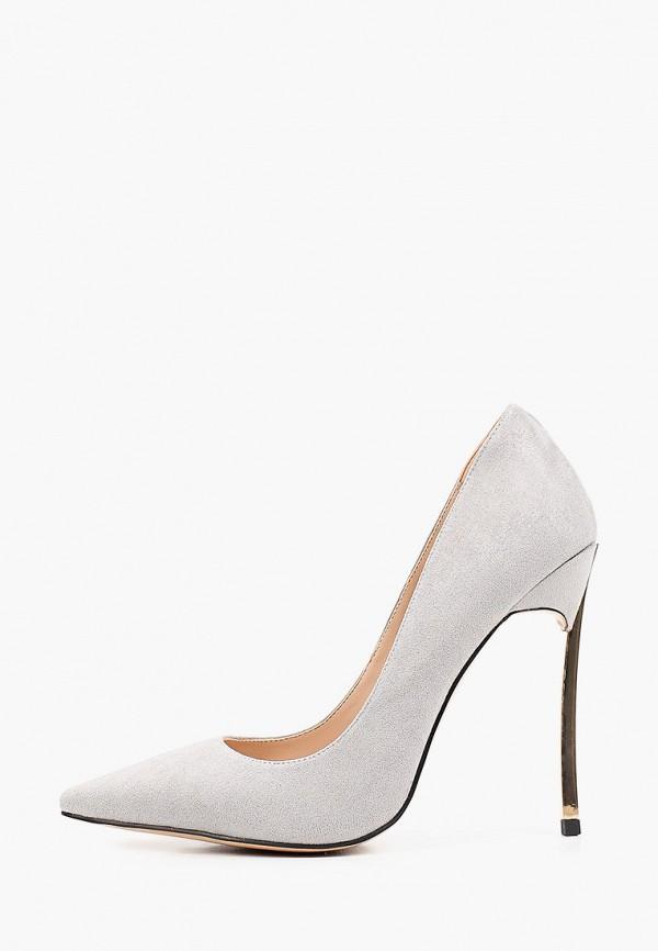 женские туфли-лодочки diora.rim, серые