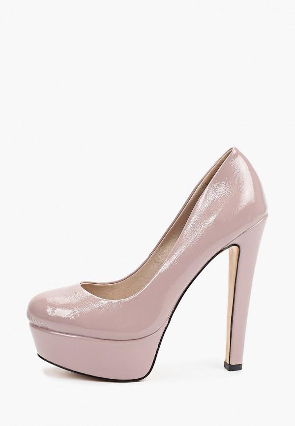 женские туфли с закрытым носом diora.rim, розовые