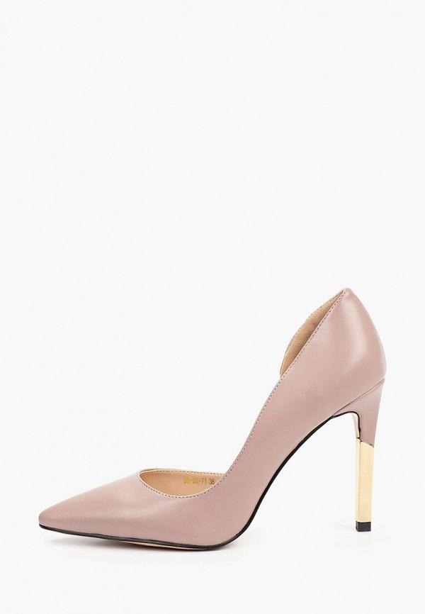 женские туфли-лодочки diora.rim, розовые