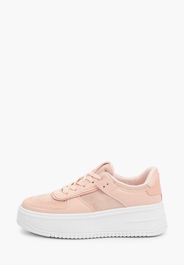 женские низкие кроссовки diora.rim, розовые