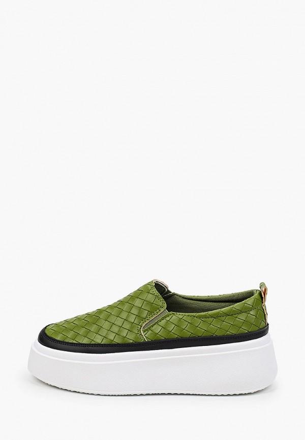 женские слипоны diora.rim, зеленые