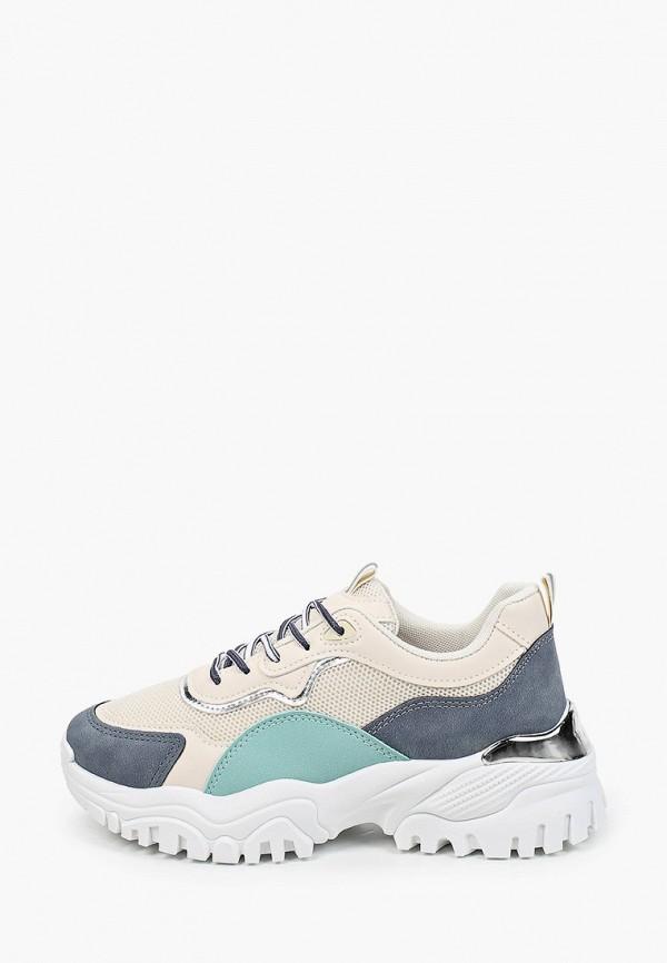 женские кроссовки diora.rim, бежевые