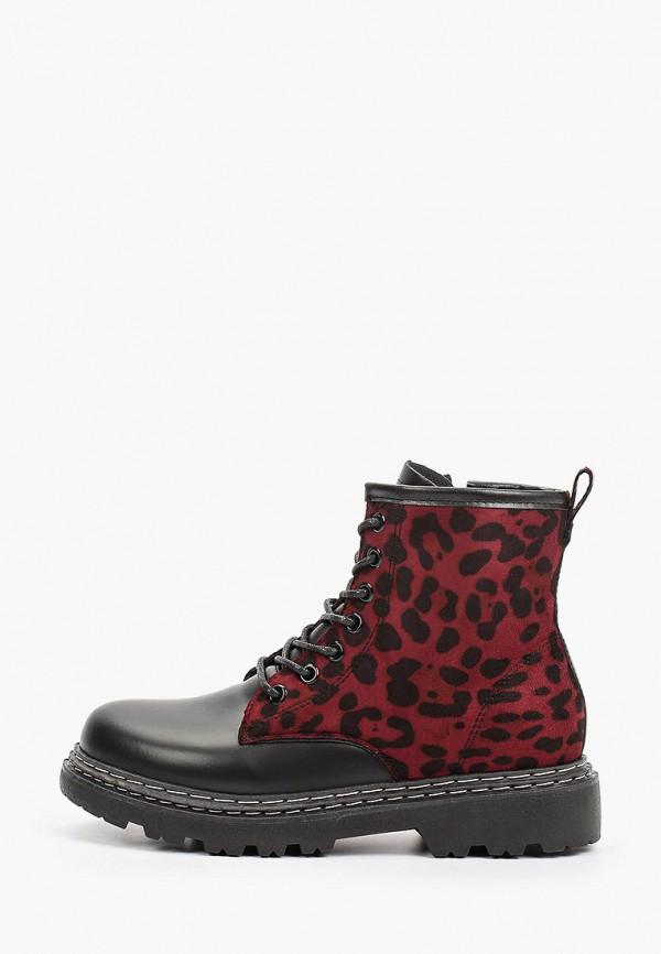 женские высокие ботинки diora.rim, бордовые