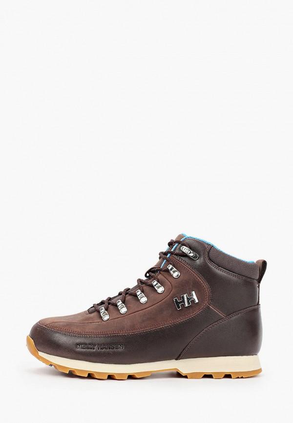 женские высокие ботинки helly hansen, коричневые