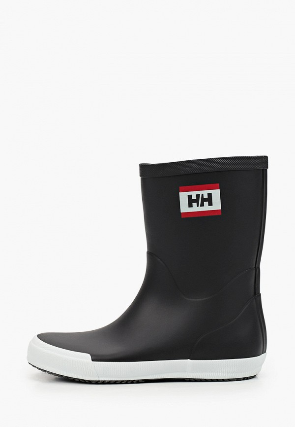 женские резиновые полусапожки helly hansen, черные