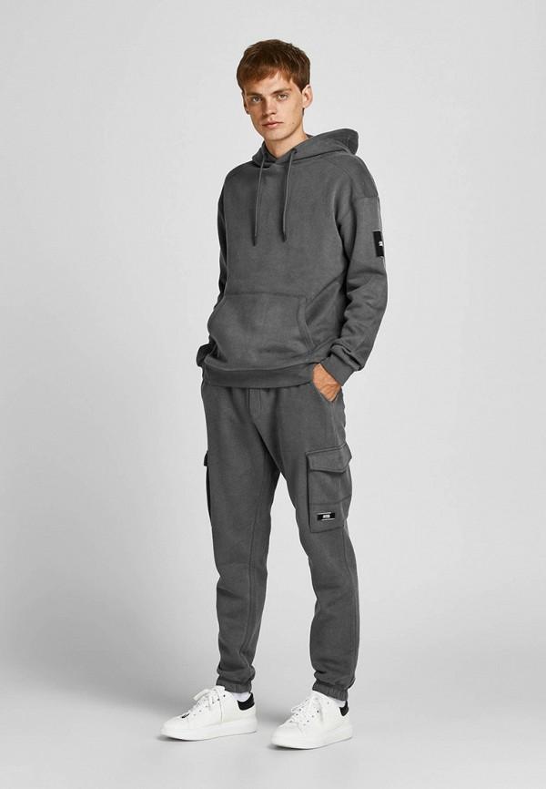 мужской спортивный костюм jack & jones, серый