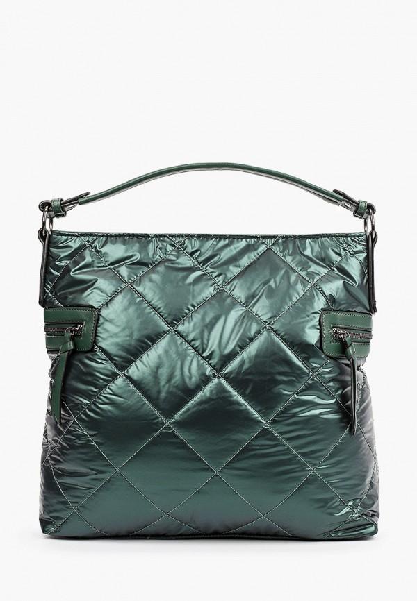 женская сумка с ручками moda sincera, зеленая