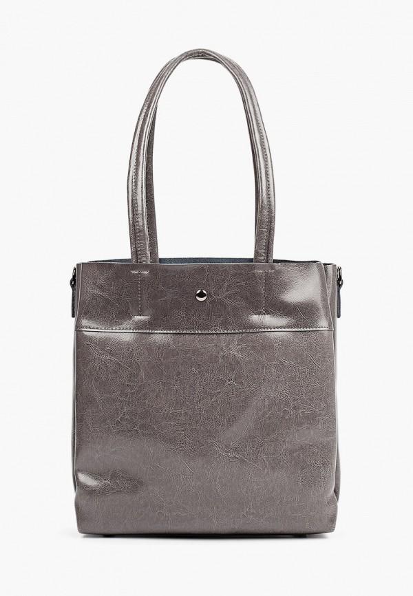 женская сумка с ручками moda sincera, серая