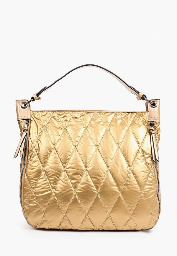 женская сумка с ручками moda sincera, золотая