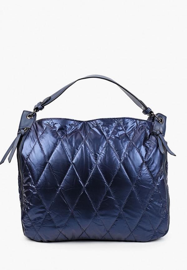 женская сумка с ручками moda sincera, синяя